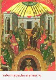 Rusaliile sau Pogorîrea Duhului Sfînt, ziua în care a luat fiinţă prima comunitate creştină
