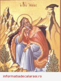Sfântul Ilie, făcător de minuni şi aducător de ploi