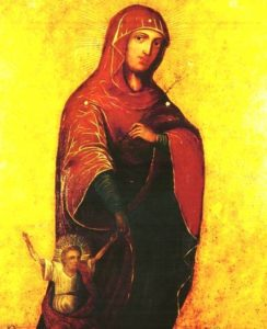 Procesiune cu Icoana Maicii Domnului cu Pruncul de mână de la Mănăstirea Sihăstria Voronei la Călăraşi